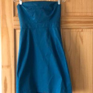 JCrew strapless dress, 6.